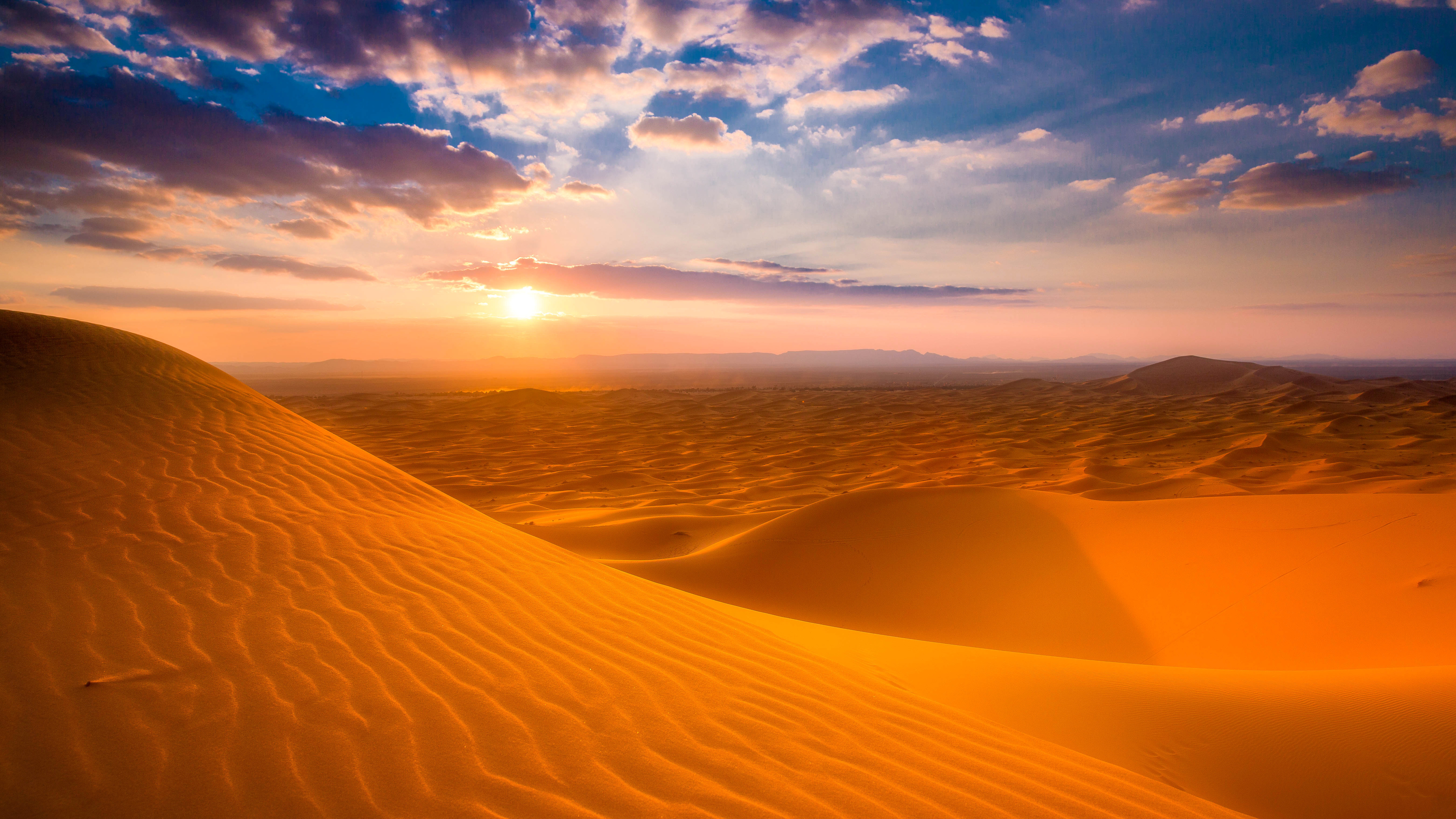 Wallpaper Cars Sahara Desert Sunset Wallpapers