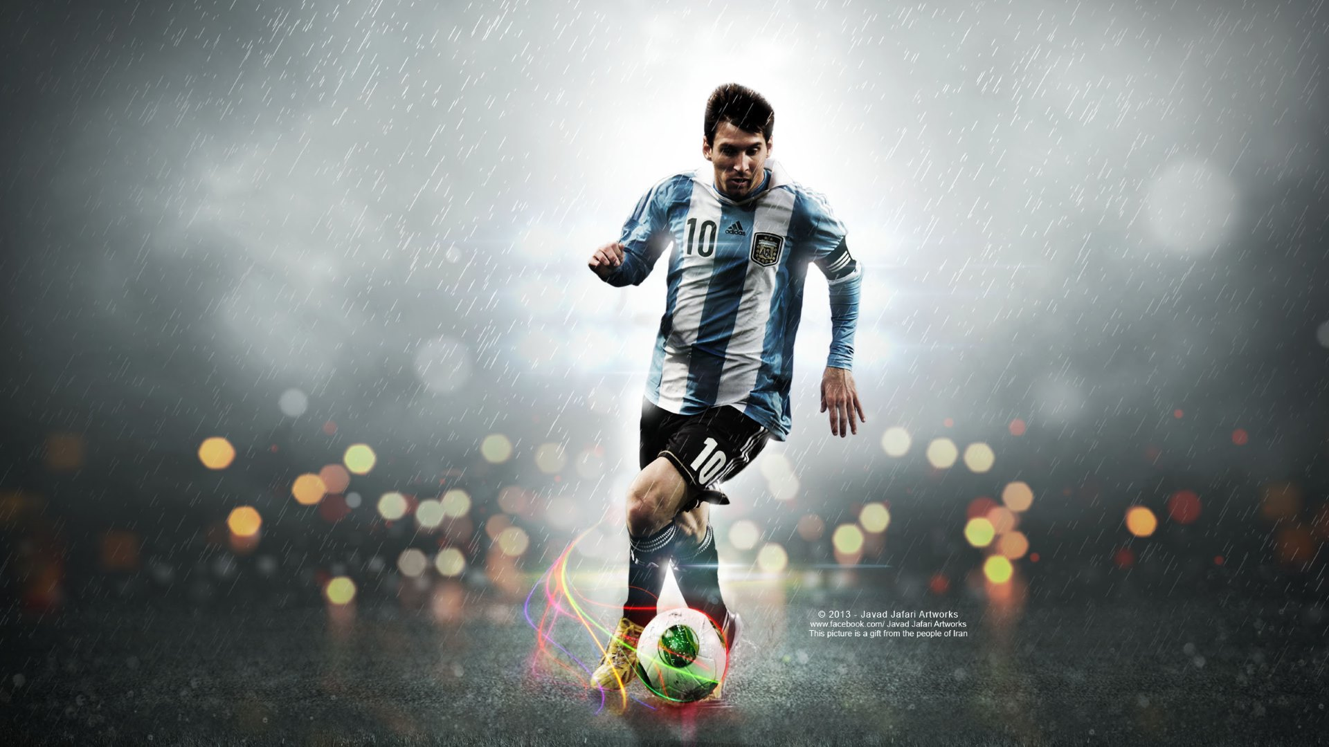 Latest 3d Wallpaper Designs The One And Only Leo Messi Wallpapers