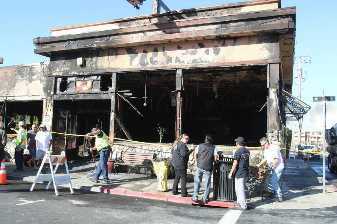Cucina Italiana News Fire Destroys Most Of Giuseppe S Restaurant In Pismo Beach The