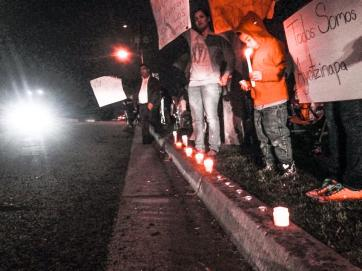 Ayotzinapa Missing 43 Vigil at Mexican Consulate in Fresno California