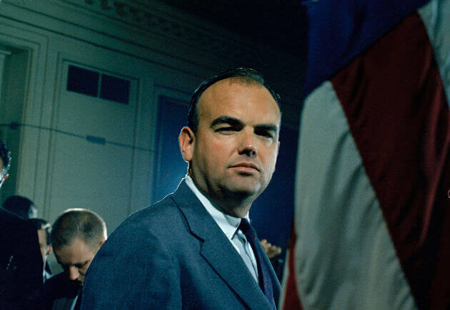John D. Ehrlichman, appointed counsel to the White House, is seen in 1968.  (AP Photo)