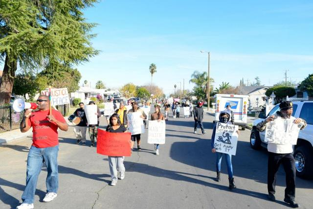 March Through Pindale in Fresno