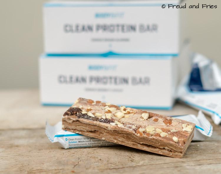 Clean protein bars