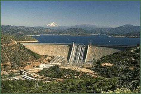 Shasta Dam and Lake Shasta
