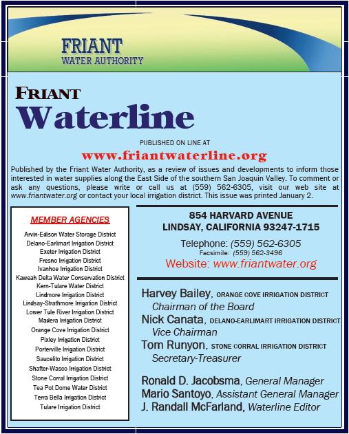 Friantwaterline