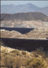 Lake Mead's record low level