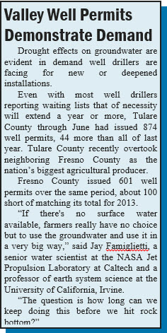 Valley Well Permits