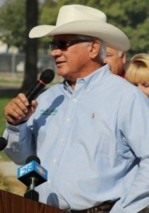Water Commissioner Joe Del Bosque