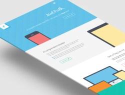 Perth - A Free Flat Website Template