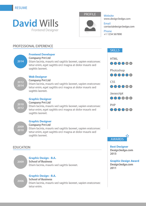 Use A Resume Template In Word Online Supportoffice Professional Resume Template Design Freebies Fribly