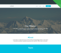 Free Clean Website Template