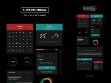 Superminimal UI Kit