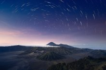 Stars Over The Volcanos