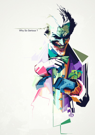Why So Serious - Digital Art - Fribly