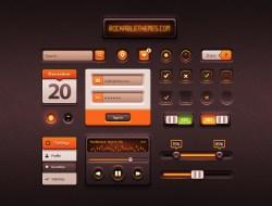 Caramel UI - Free User Interface Kit