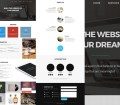 Dream One Page Web Template