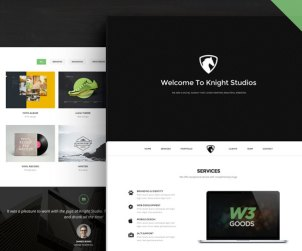 Knight - Free Bootstrap Theme