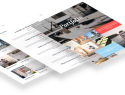 Portfolio - A Free WordPress Theme for Creatives