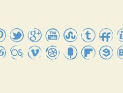 Stamp Icons Set
