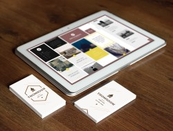 9+ Business Card & Tablet Free Mockups
