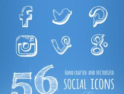 Social Icons - Free Set