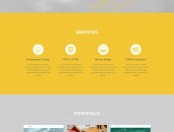 Five - Free One Page Bootstrap Template