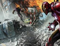 Iron Man Street Fight