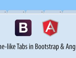 Build Chrome-like Tabs with Bootstrap and AngularJS