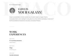 Free Personal Resume Website Template