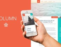 Column - Free Website Template
