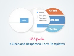 7 Clean and Responsive Form Templates