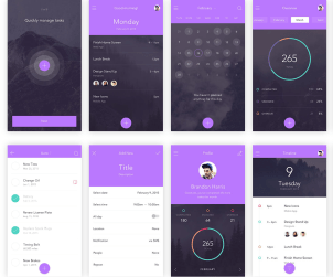 Free to-do App UI Kit