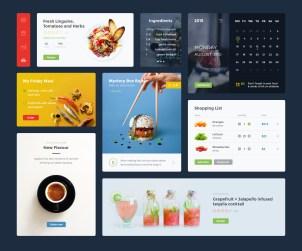 Free Food & Drink UI Kit