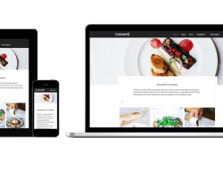 Canape - Free Tasty WordPress Theme