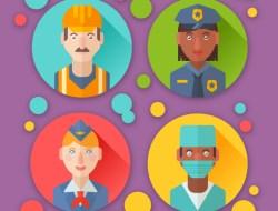 How to Create Flat Profession Avatars in Adobe Illustrator