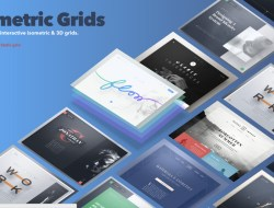 Isometric and 3D Grids