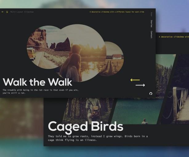Multi-Layout Slideshow