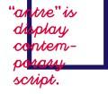 antre-free-font