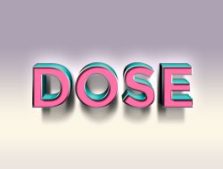 dose-text-effect