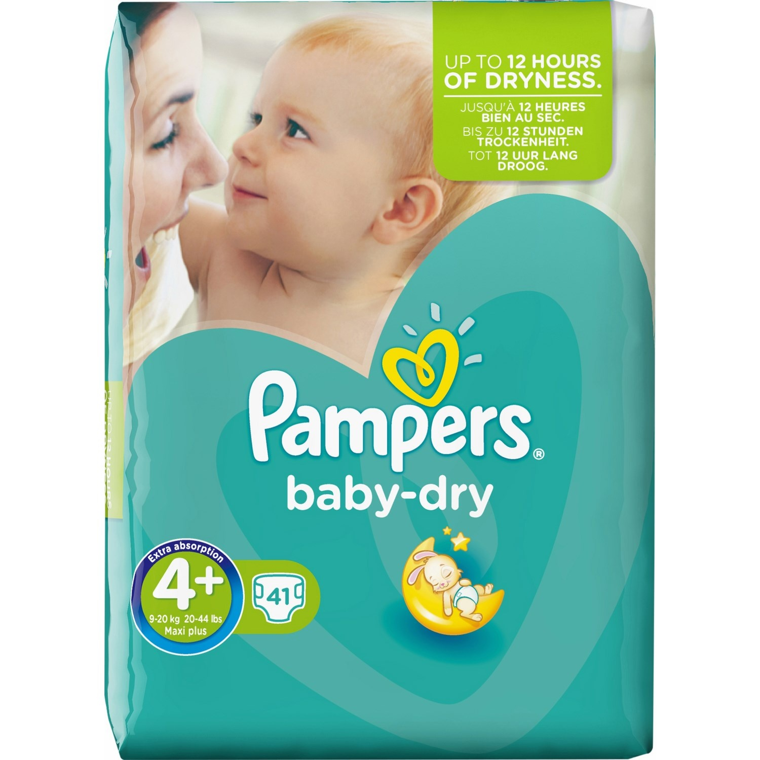 Couche Pampers Prix Couches Baby Dry Taille 4 9 20 Kg Pampers X 24