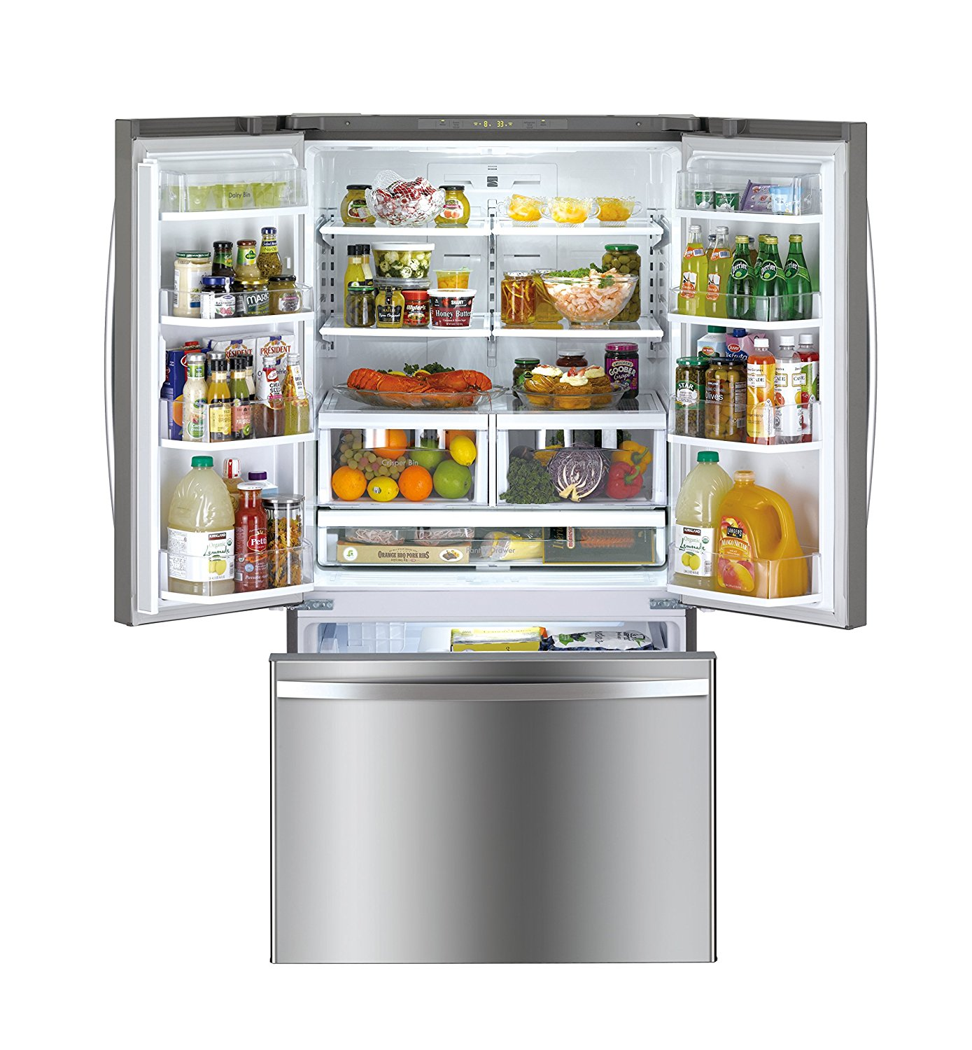 Kuche Bar Fridge Review Lg Studio Lsfxc2496d 36 Quot Black Stainless Counter Depth
