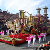 New Year's Rose Parade- Motorcoach