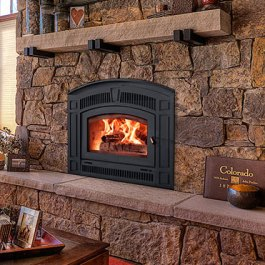 RSF Pearl Wood Fireplace Picture