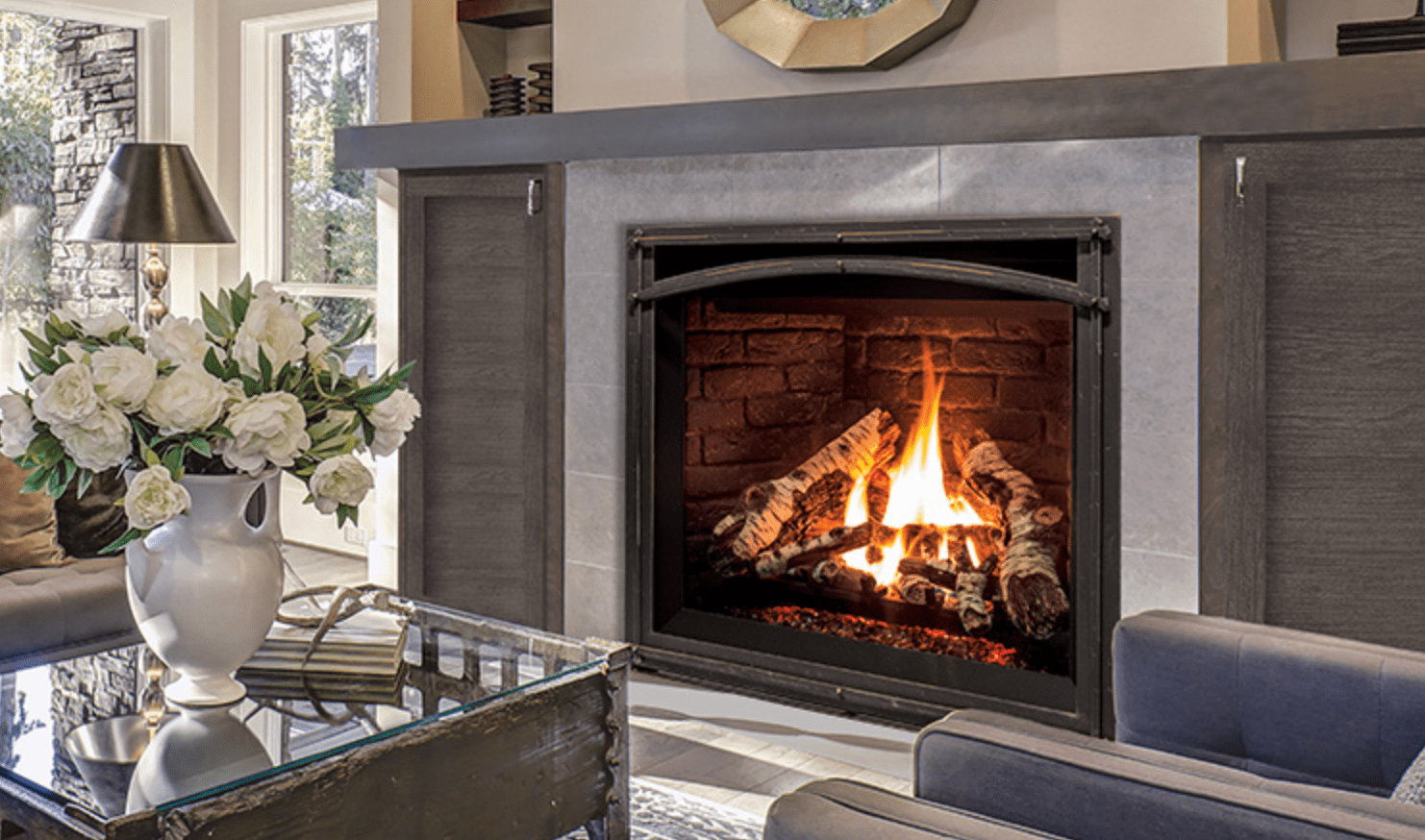 Propane Fireplace Installation Enviro G42 Natural Gas Or Propane Fireplacefriendly Fires