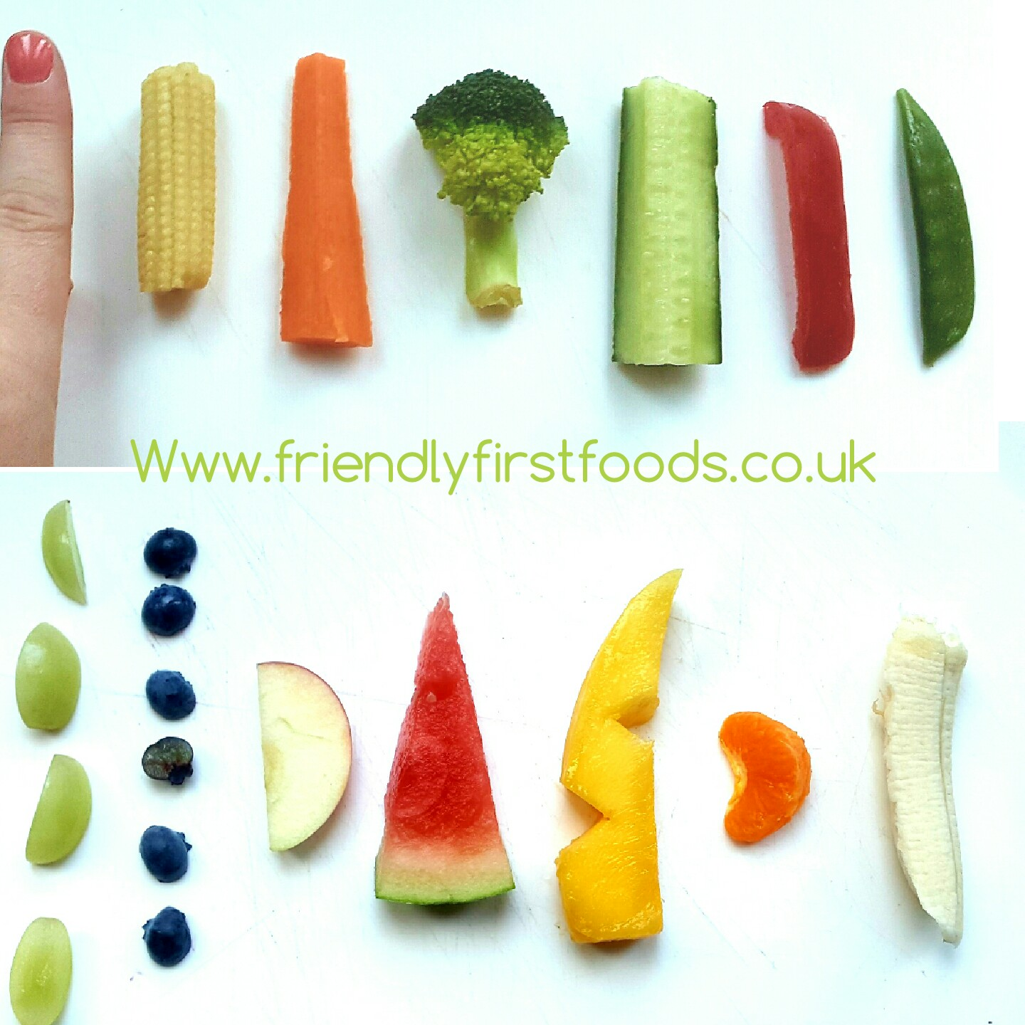 Blw 6 Meses Finger Food Size Guide And A Really Useful Banana Hack