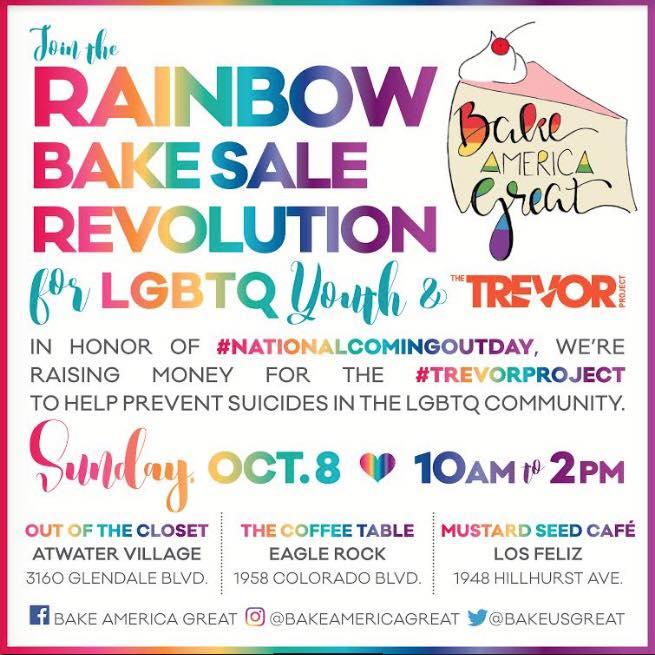 Rainbow Bake Sale \u2013 Oct 2017 Friends of King