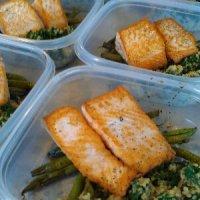 Seared salmon and kale quinoa ¦ Friend That Cooks Blog