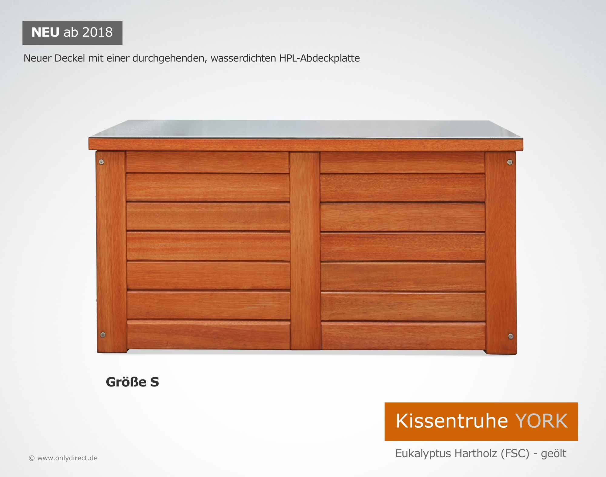 Kissentruhe Wasserdicht Friesenbank Shop Kissenbox Auflagenbox Holz In