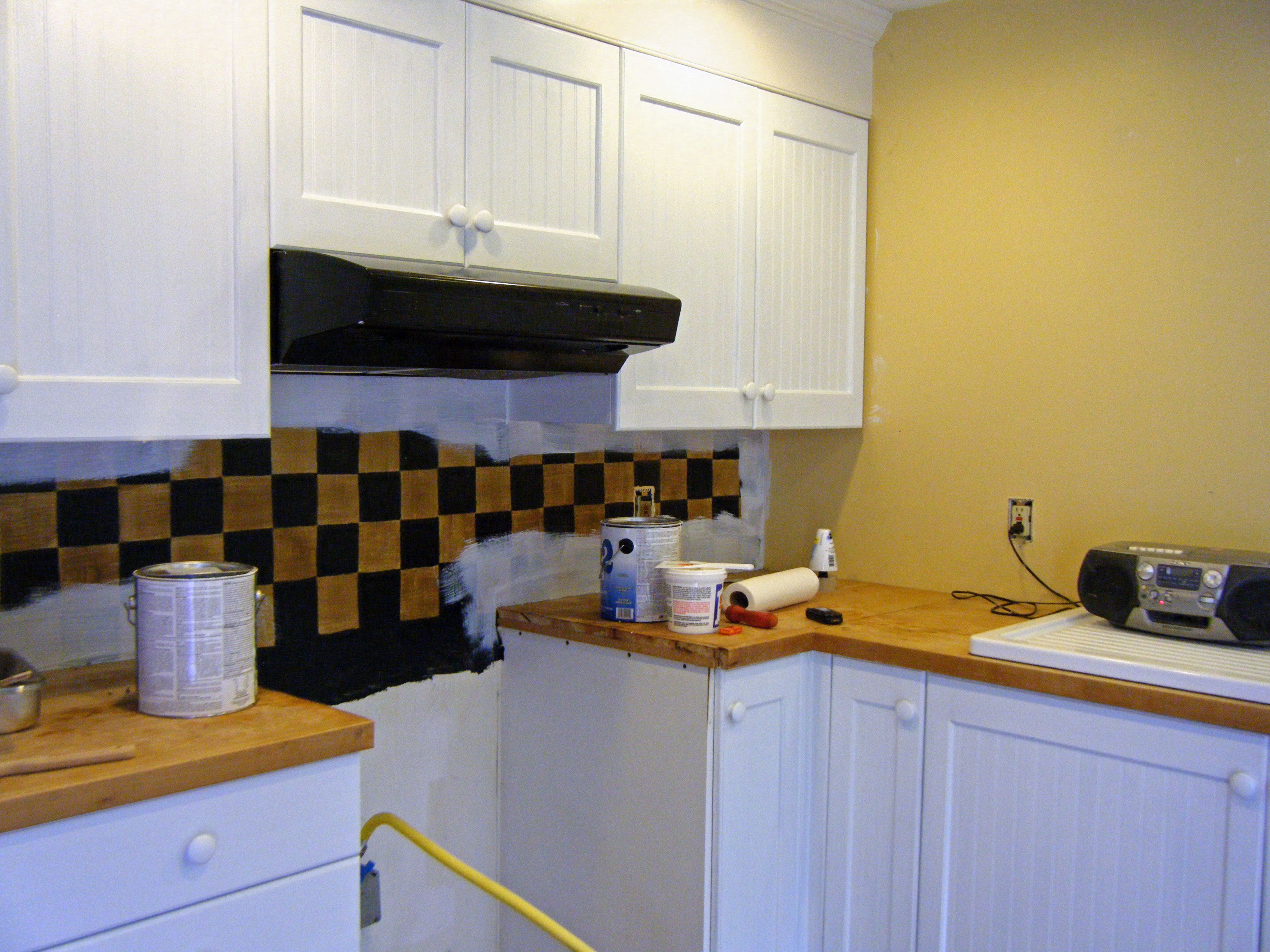 Mustard Color Paint For Kitchen Painting Sister S Kitchen Fries In A Cone