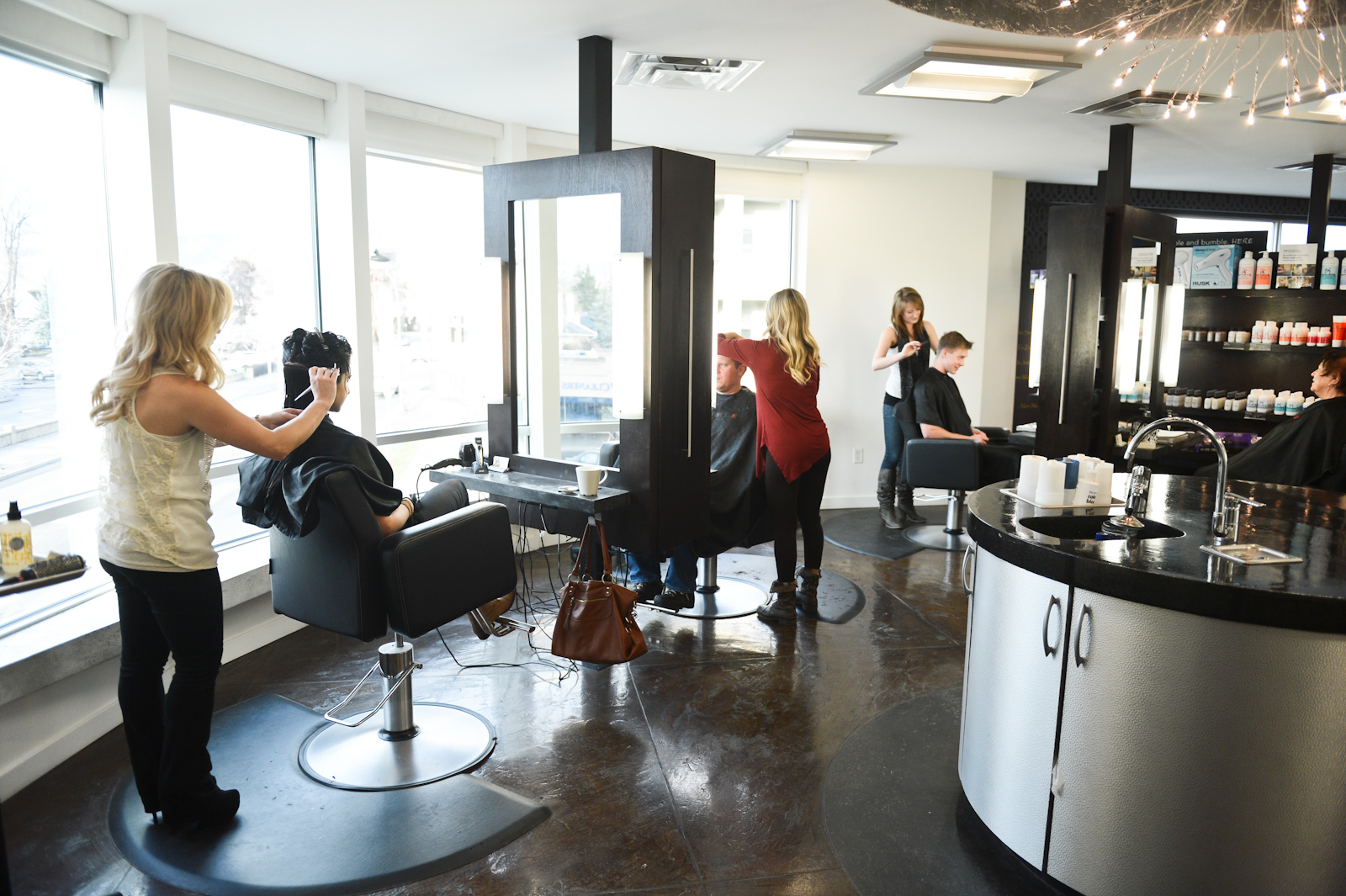 Beauty Salon Head Turning Hair Styles Fringe Hair Salon Kelowna